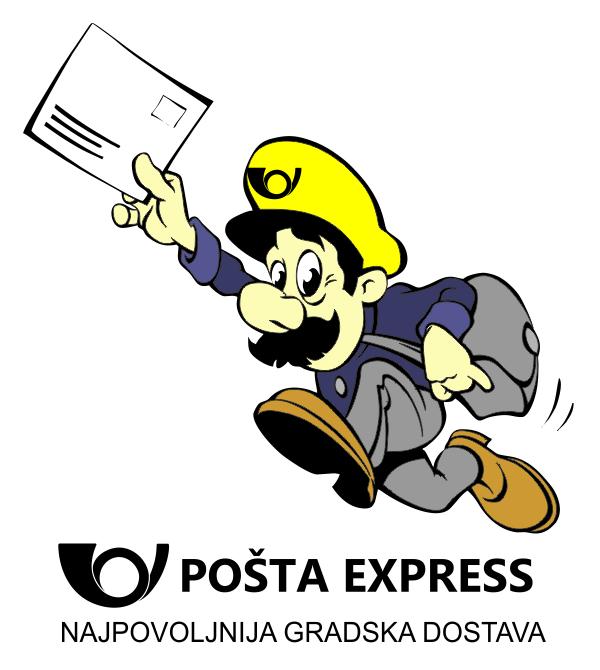 Pošta Express - najpovoljnija gradska dostava